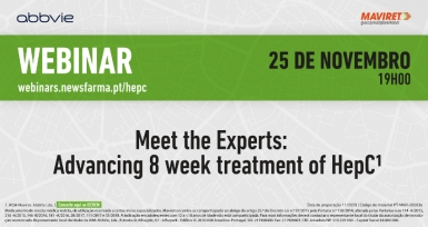 "Marque na agenda: webinar ""Meet the Experts: Advancing 8-week treatment of HepC"""